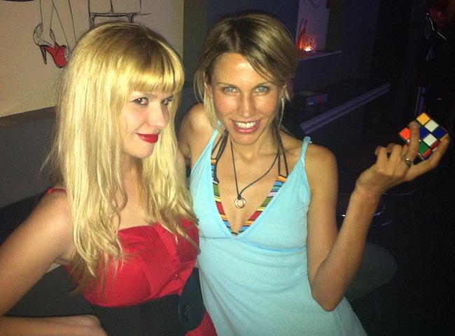 Гери и Миленита, double blond, червено vs синьо Снимка: Киро.бг